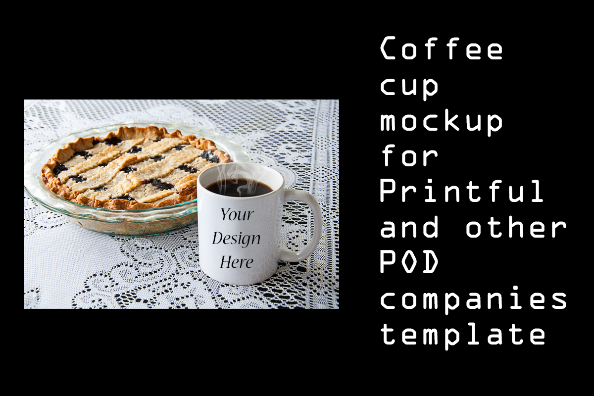 Download Free Coffee Cup Mockup For Printful White Mug Graphic By A Design In for Cricut Explore, Silhouette and other cutting machines.