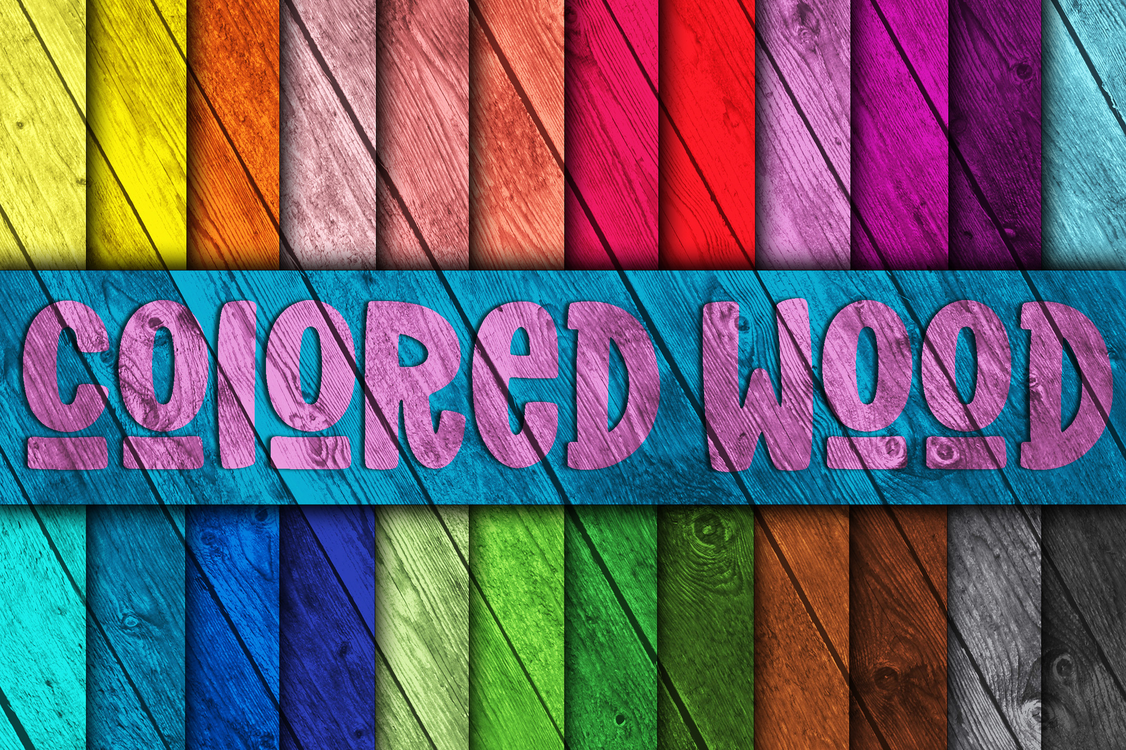 Download Free Colored Wood Fence Digital Paper Texture Graphic By for Cricut Explore, Silhouette and other cutting machines.