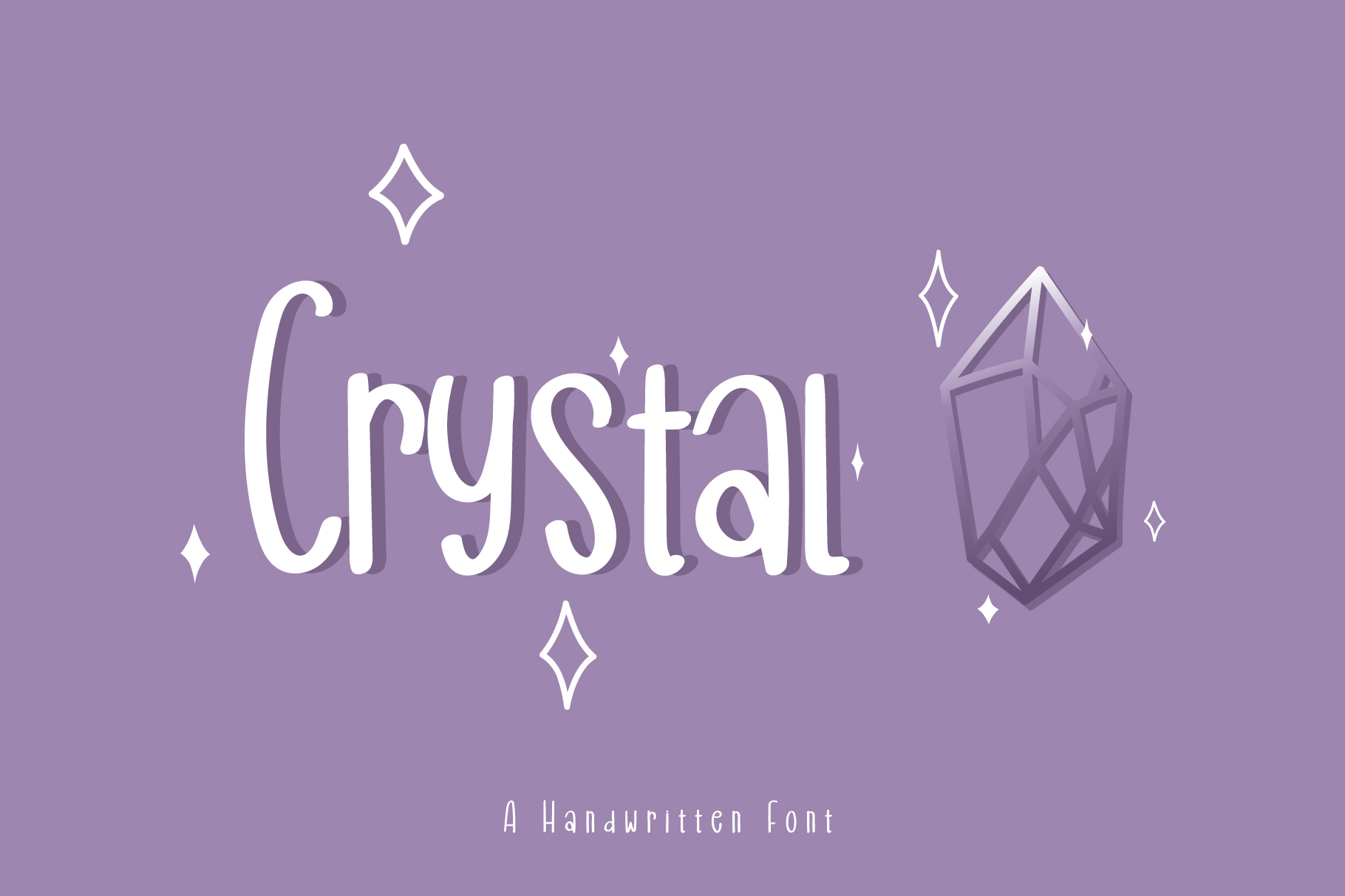 Download Free Crystal Font By Wanida Toffy Creative Fabrica SVG Cut Files