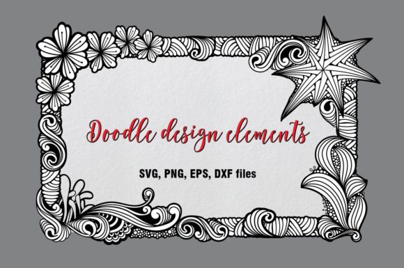Download Free Design Elements Graphic By Eva Barabasne Olasz Creative Fabrica for Cricut Explore, Silhouette and other cutting machines.