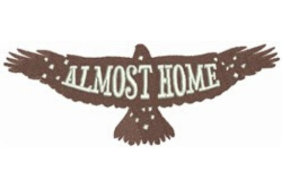 Eagle - Almost Home Birds Embroidery Design By designsbymira