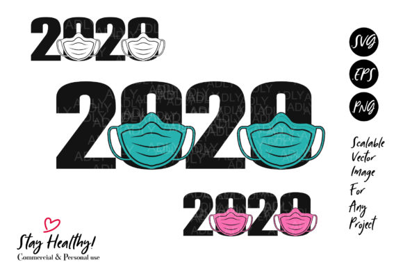 Download Free Face Mask 2020 Virus Design Sublimation Graphic By Adlydigital SVG Cut Files