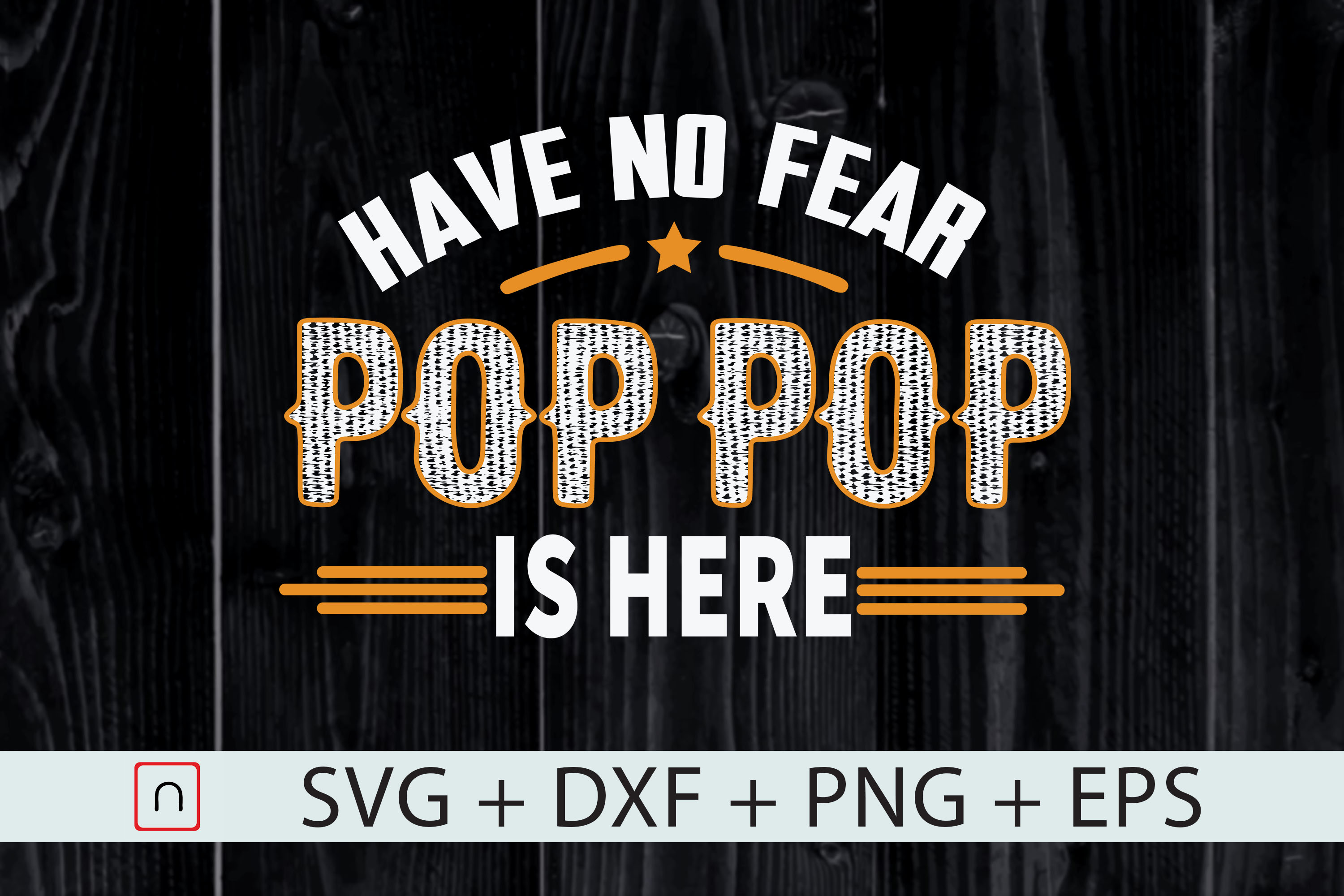 Father S Day Pop Pop Is Here Graphic By Novalia Creative Fabrica