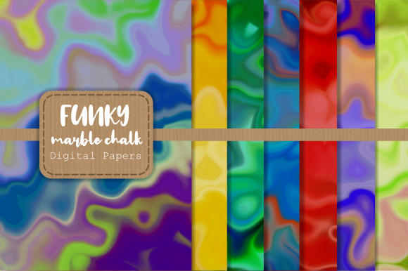 Funky Marble Chalk Background Papers Graphic By Prawny