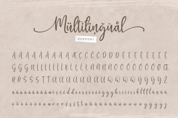 Print on Demand: Gratefully Script & Handwritten Font By Wandery Supply - Image 12