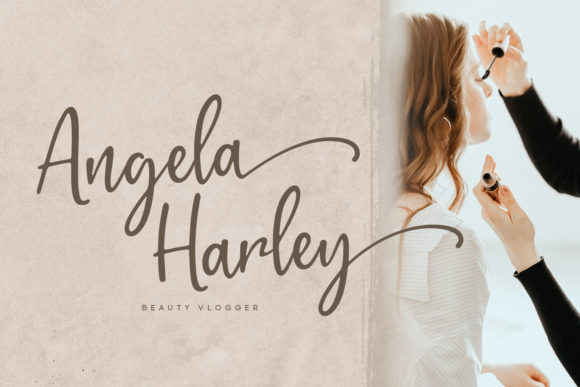 Print on Demand: Gratefully Script & Handwritten Font By Wandery Supply - Image 7
