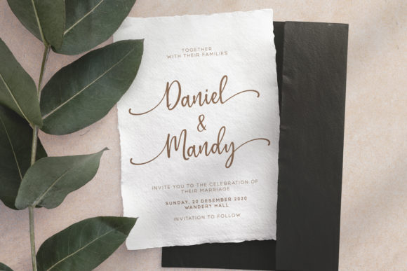 Print on Demand: Gratefully Script & Handwritten Font By Wandery Supply - Image 9
