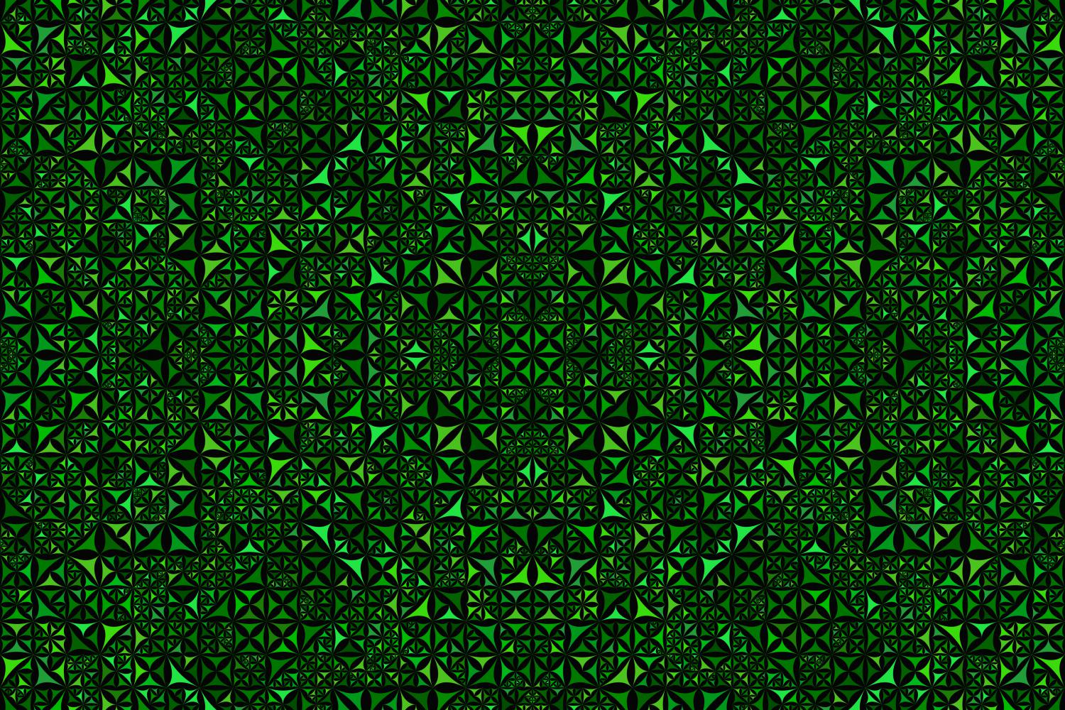 Download Free Green Seamless Kaleidoscope Pattern Graphic By Davidzydd for Cricut Explore, Silhouette and other cutting machines.