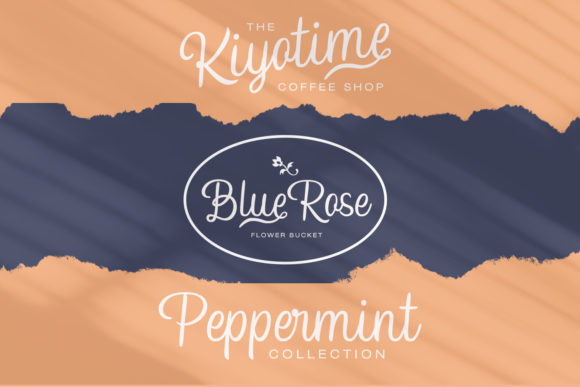 Print on Demand: Hampshire Script & Handwritten Font By Temp here - Image 3