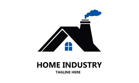 Home Industry Logo Template Vector Graphic Logos By 2qnah