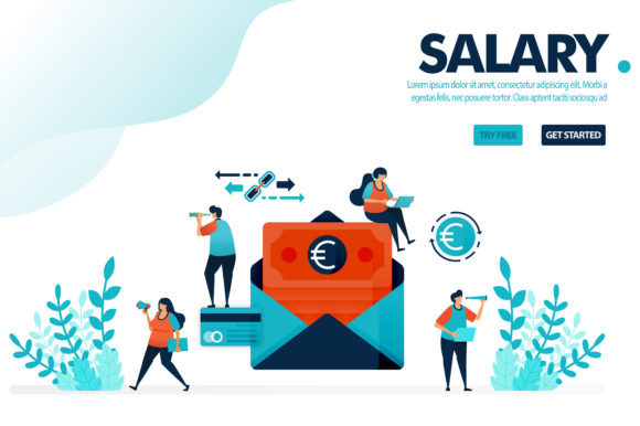 Download Free Illustration Safe Payroll Payment Graphic By Setiawanarief111 for Cricut Explore, Silhouette and other cutting machines.