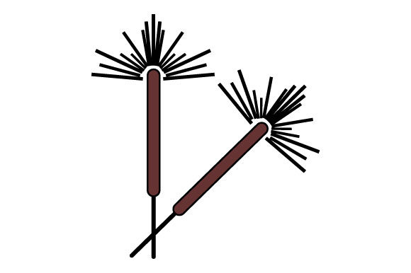 Download Free Illustration Of Two Firecrackers Graphic By Yapivector for Cricut Explore, Silhouette and other cutting machines.