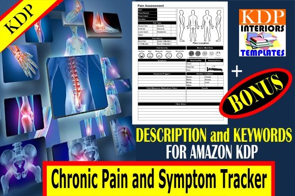 KDP | Chronic Pain and Symptom Tracker Graphic KDP Interiors By KDP Interiors Templates