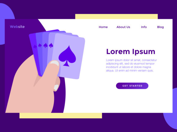 Download Free Landing Page Milenial Card Graphic By Archshape Creative Fabrica for Cricut Explore, Silhouette and other cutting machines.
