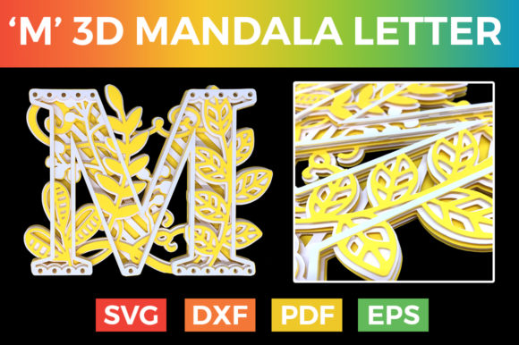 Download Free Letter Y 3d Alphabet For Cricut Graphic By Craftandcut for Cricut Explore, Silhouette and other cutting machines.