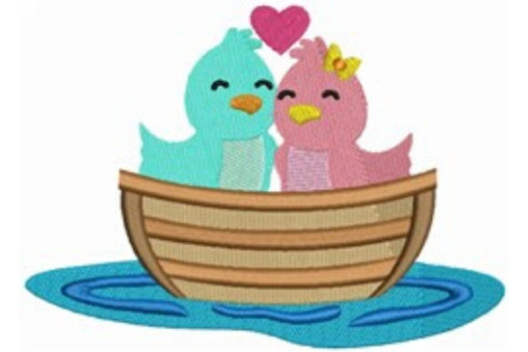 Download Free Love Boat Love Birds Creative Fabrica for Cricut Explore, Silhouette and other cutting machines.