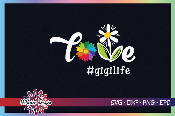 Download Free Love Mimi Life Graphic By Ssflower Creative Fabrica for Cricut Explore, Silhouette and other cutting machines.