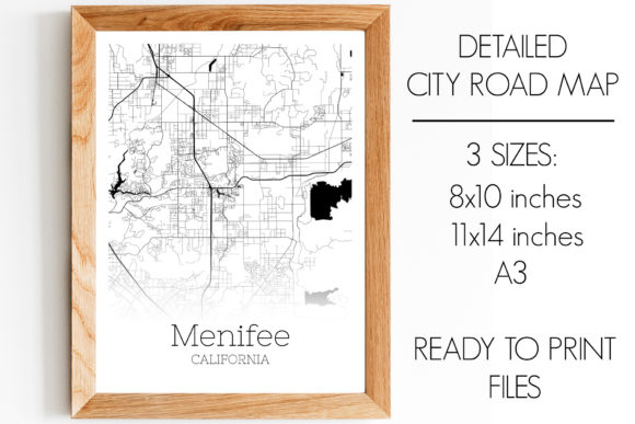 Download Free Menifee California City Map Graphic By Svgexpress Creative Fabrica for Cricut Explore, Silhouette and other cutting machines.