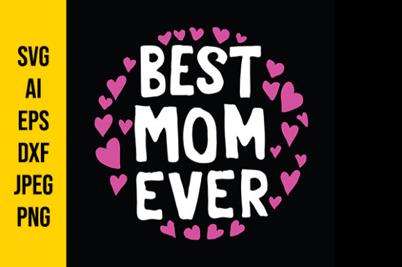 Download Free Mother S Day Quotes Graphic By Tosca Digital Creative Fabrica for Cricut Explore, Silhouette and other cutting machines.