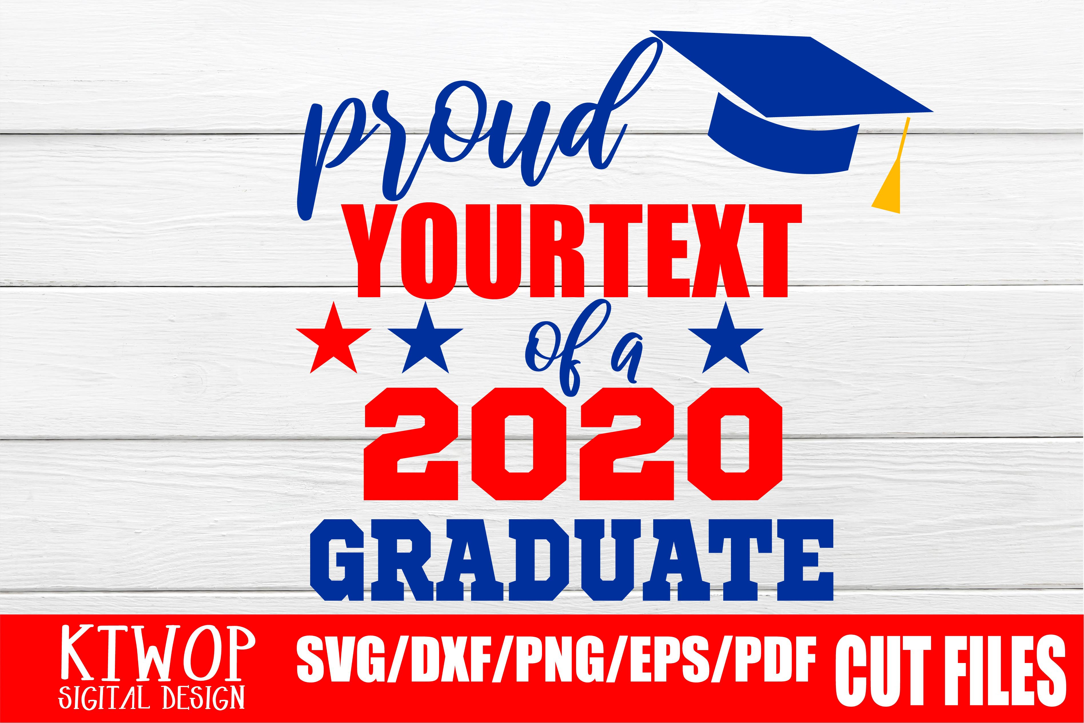 Download Free Proud Graduation 2020 Quarantine Graphic By Ktwop Creative Fabrica for Cricut Explore, Silhouette and other cutting machines.