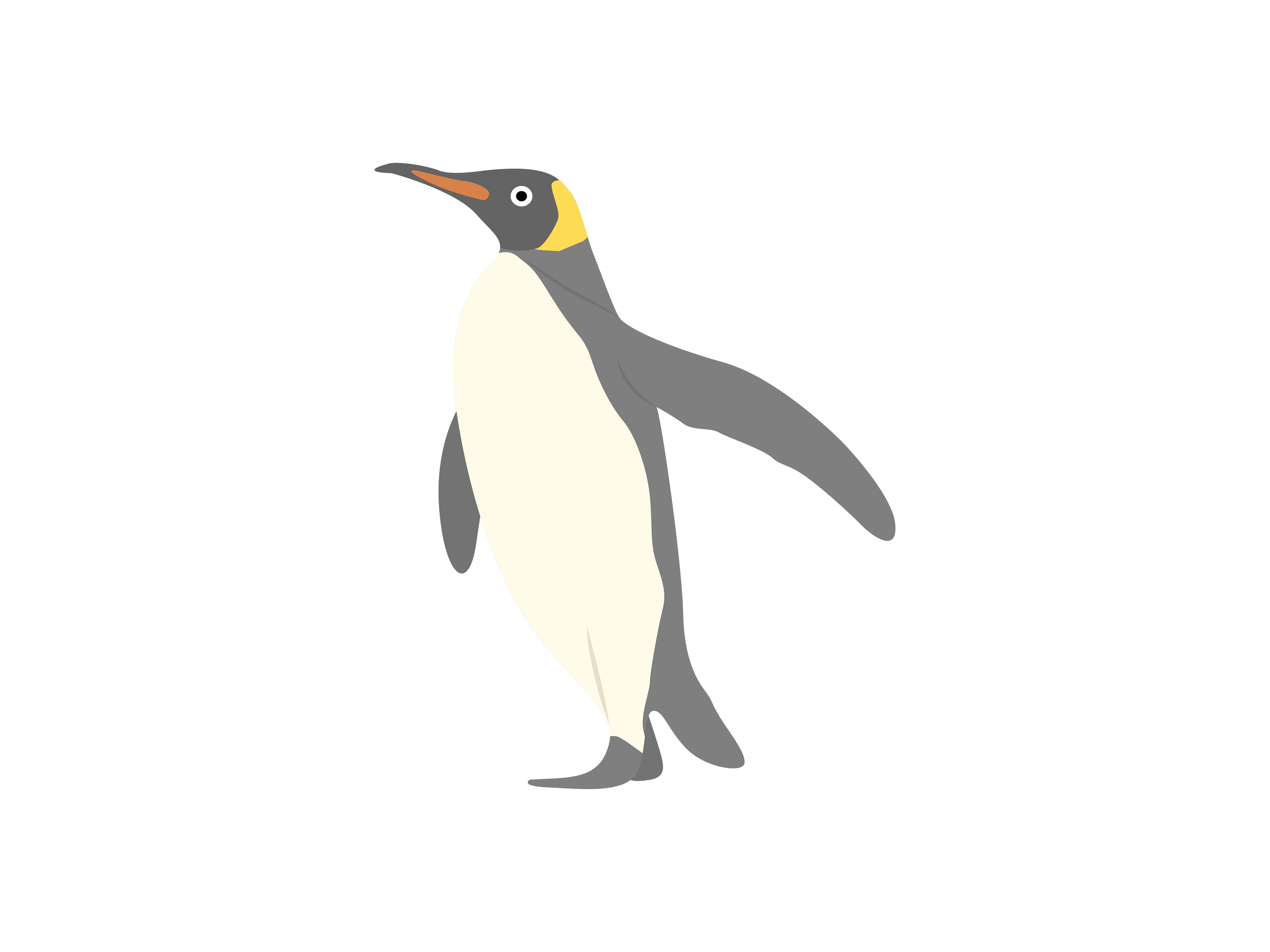Download Free Penguin Animal Graphic By Archshape Creative Fabrica for Cricut Explore, Silhouette and other cutting machines.