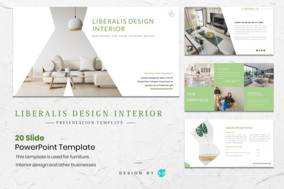 Download Free Presentation Tamplate Design Interior Graphic By for Cricut Explore, Silhouette and other cutting machines.