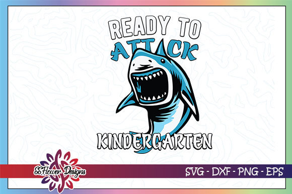 Download Free Ready To Attack Kindergarten Graphic By Ssflower Creative Fabrica for Cricut Explore, Silhouette and other cutting machines.