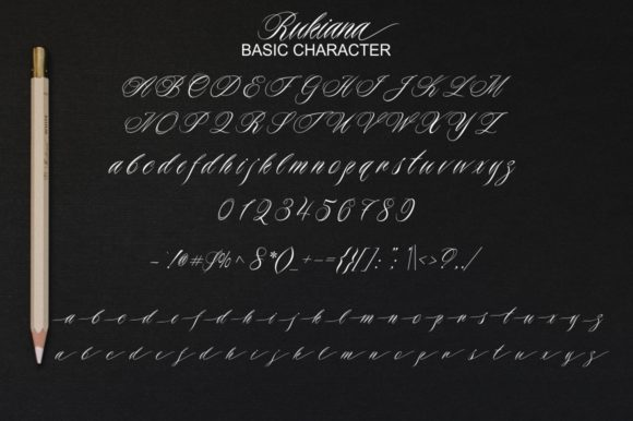 Download Free Rukiana Font By Bot Kerling Creative Fabrica for Cricut Explore, Silhouette and other cutting machines.