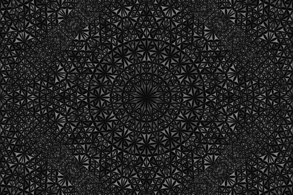 Download Free Seamless Kaleidoscope Mandala Pattern Graphic By Davidzydd for Cricut Explore, Silhouette and other cutting machines.
