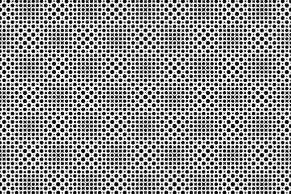 Download Free Seamless Monochrome Circle Pattern Graphic By Davidzydd for Cricut Explore, Silhouette and other cutting machines.