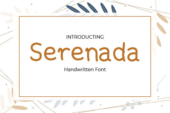Download Free Serenada Font By Masyafi Creative Studio Creative Fabrica for Cricut Explore, Silhouette and other cutting machines.