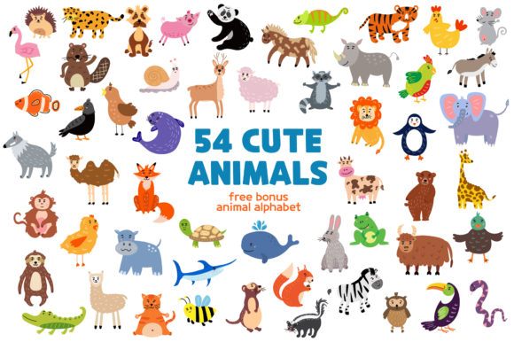 Download Free 2 Safari Animals Clipart Designs Graphics for Cricut Explore, Silhouette and other cutting machines.