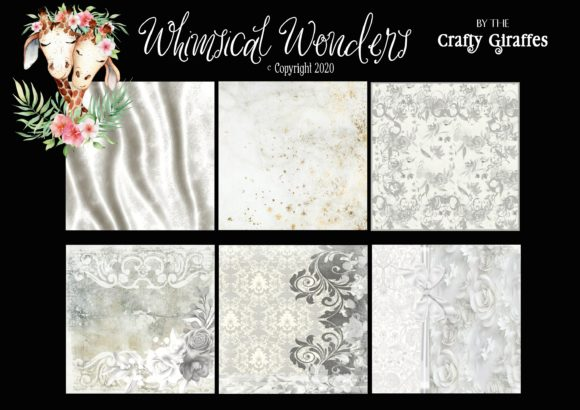 Download Free Shabby Chic Bridal 20 Papers Graphic By Wwdpaulymac2020 for Cricut Explore, Silhouette and other cutting machines.