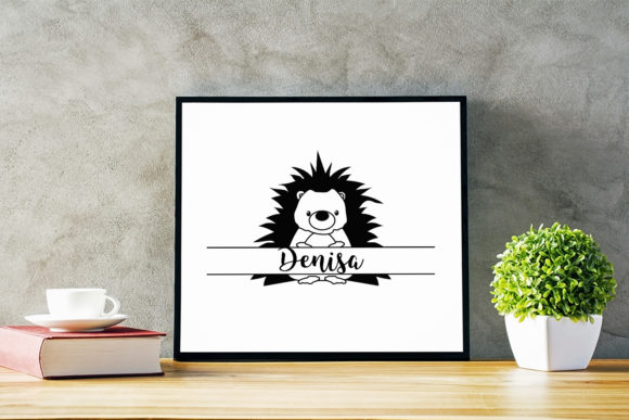 Download Free Split Hedgehog Cut File Graphic By Sintegra Creative Fabrica for Cricut Explore, Silhouette and other cutting machines.