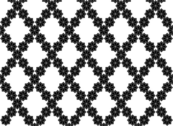 Morocco Pattern Vector 1 Graphic Patterns By asesidea