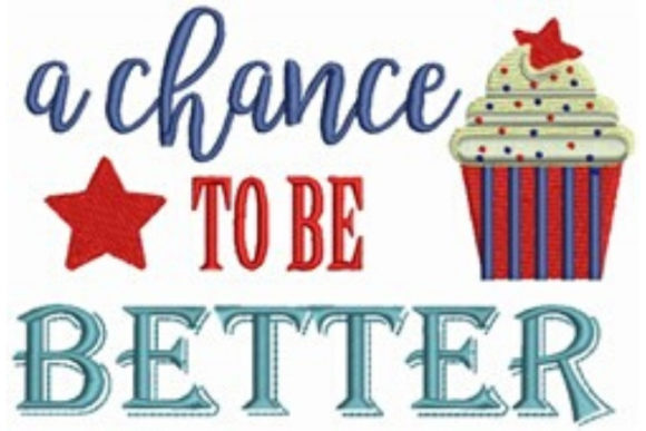 A Chance to Be Better Inspirational Embroidery Design By designsbymira