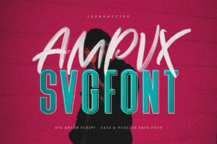 Print on Demand: Ampvx Display Font By Maulana Creative