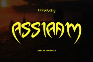 Print on Demand: Assiaam Display Font By Sealoung