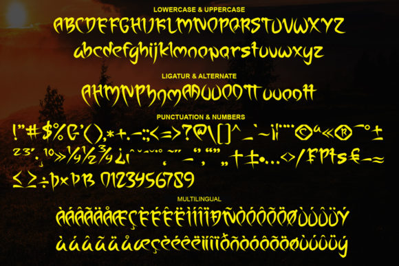 Print on Demand: Assiaam Display Font By Sealoung - Image 8