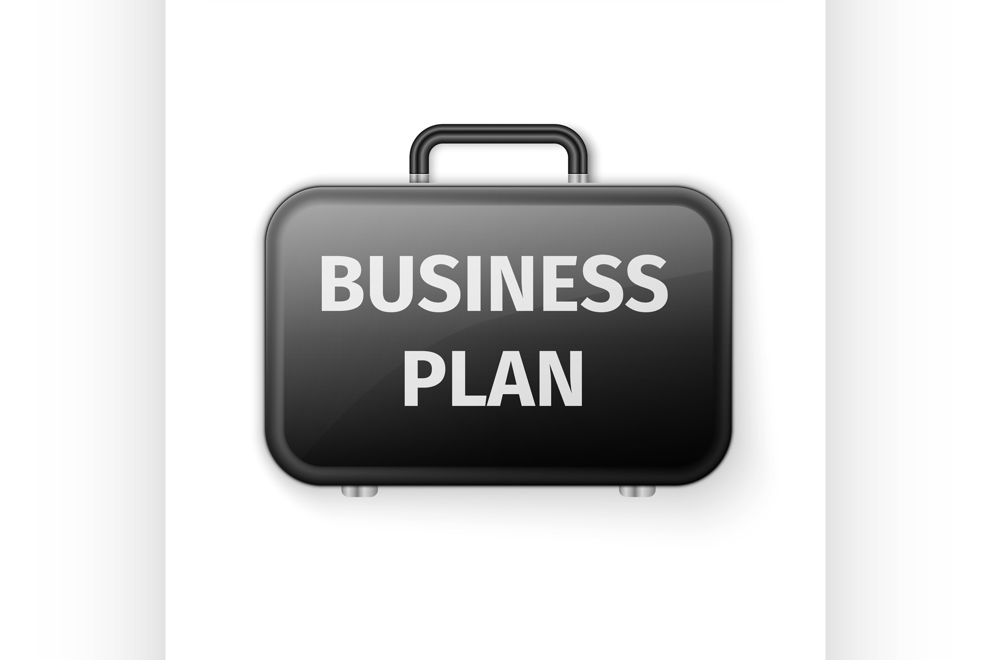 Download Free Black Briefcase Business Plan Concept Graphic By Netkov1 for Cricut Explore, Silhouette and other cutting machines.