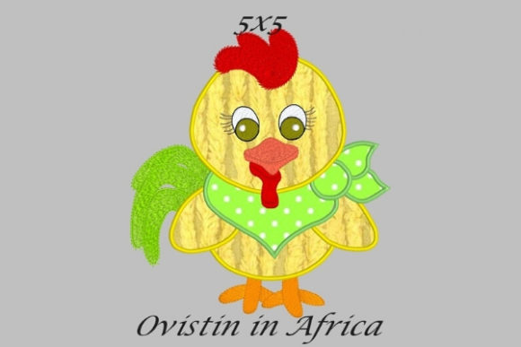 Cool Baby Turkey Small Baby Animals Embroidery Design By Ovistin in Africa - Image 1