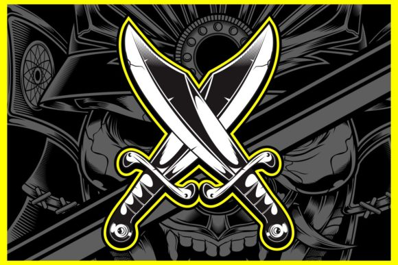 Crossed Swords Graphic Illustrations By Epic.Graphic