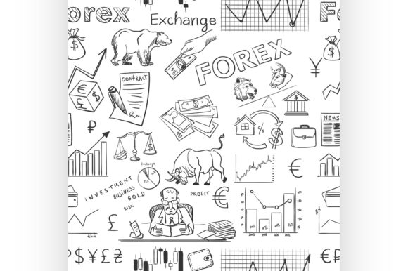 Download Free Finance Forex Hand Drawing Pattern Graphic By Netkov1 Creative for Cricut Explore, Silhouette and other cutting machines.