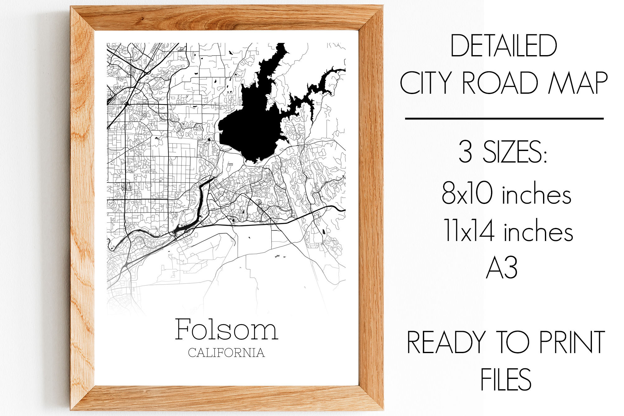 Download Free Folsom California City Map Graphic By Svgexpress Creative Fabrica for Cricut Explore, Silhouette and other cutting machines.