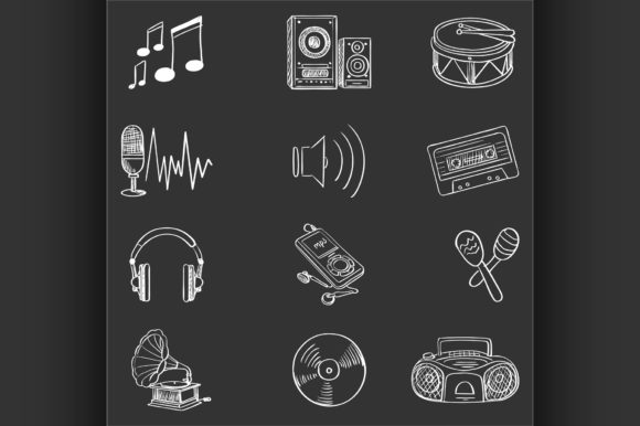 Download Free 82 Drum Designs Graphics for Cricut Explore, Silhouette and other cutting machines.