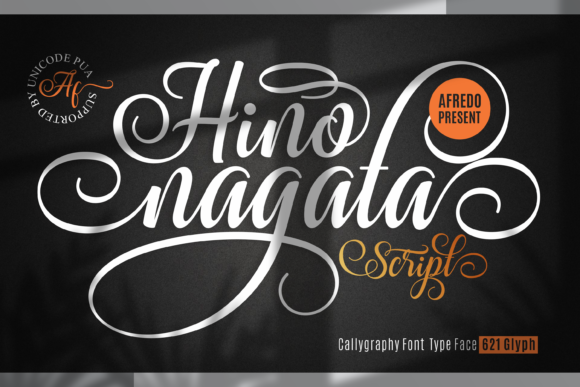 Print on Demand: Hino Nagata Script & Handwritten Font By afredo.fk