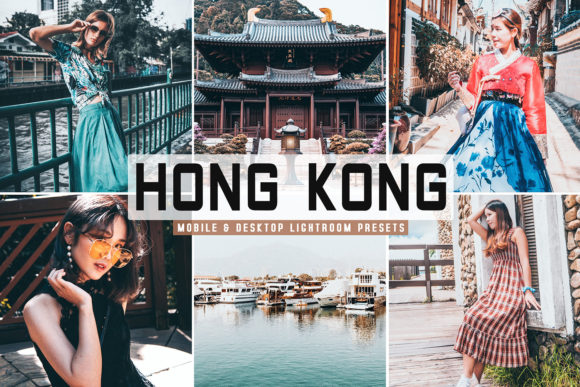 Print on Demand: Hong Kong Lightroom Presets Pack Graphic Actions & Presets By Creative Tacos