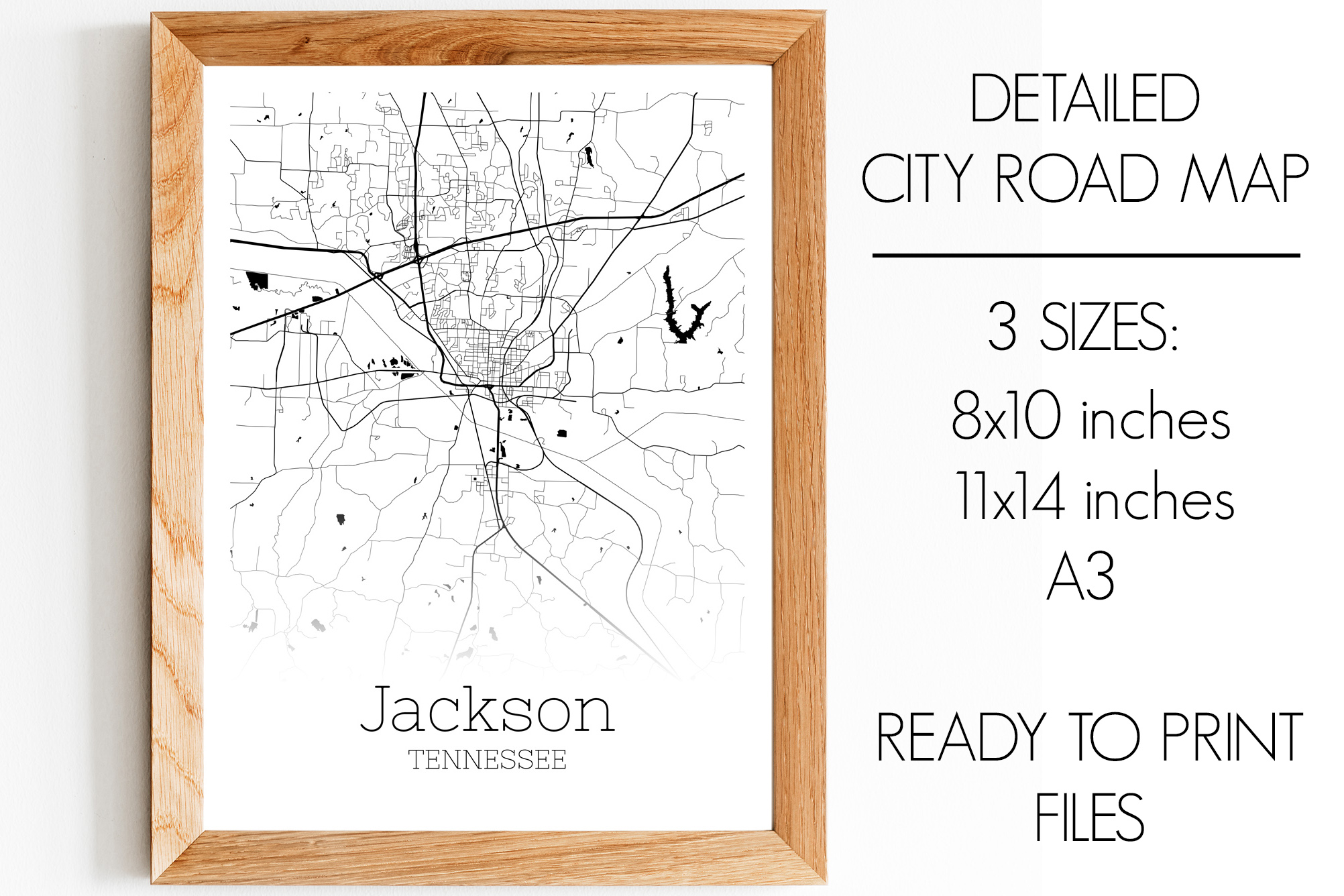 Download Free Jackson Tennessee City Map Graphic By Svgexpress Creative Fabrica for Cricut Explore, Silhouette and other cutting machines.