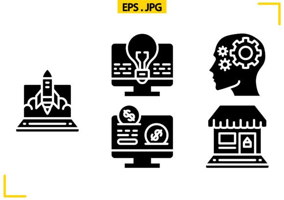 Marketing Solid Graphic Icons By raraden655
