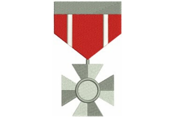 Military Service Medal Military Embroidery Design By designsbymira